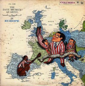 Dave Brubeck Quartet - The Dave Brubeck Quartet In Europe