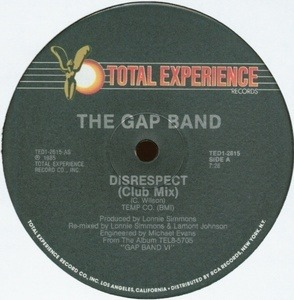 The Gap Band - Disrespect