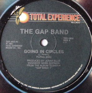 The Gap Band - Going In Circles /  I Believe