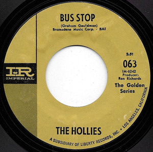 The Hollies - Bus Stop / Just One Look