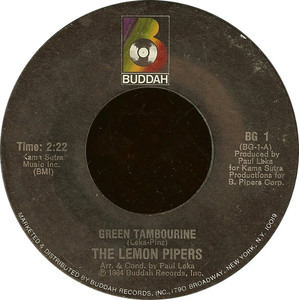 The Lemon Pipers - Green Tambourine / Rice Is Nice