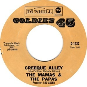 The Mamas And The Papas - Creeque Alley