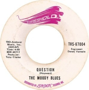 The Moody Blues - Question / Candle Of Life