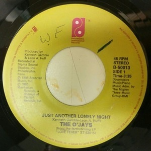 The O'Jays - Just Another Lonely Night / What Good Are These Arms Of Mine