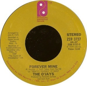 The O'Jays - Forever Mine / Get On Out And Party
