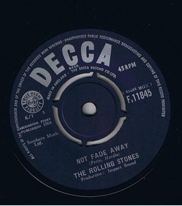 The Rolling Stones - Not Fade Away / Little By Little