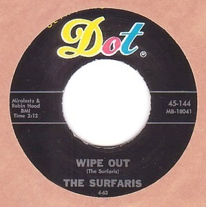 The Surfaris - Wipe Out / Surfer Joe (Dot Records)