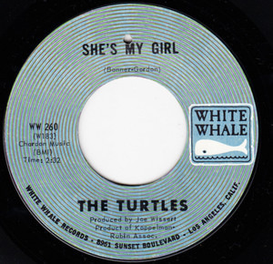 The Turtles - She's My Girl / Chicken Little Was Right