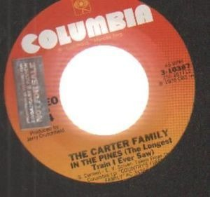 The Carter Family - in the pines