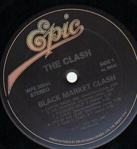 The Clash - Black market clash