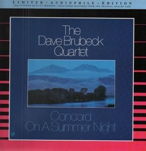 Dave Brubeck Quartet - Concord on a Summer Night