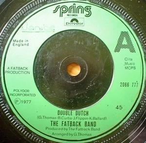 Fatback Band - Double Dutch
