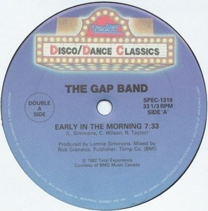 The Gap Band - Early In The Morning / Music