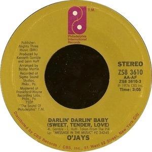 The O'Jays - Darlin' Darlin' Baby (Sweet, Tender, Love) / A Prayer