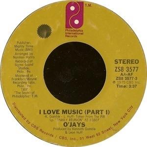 The O'Jays - I Love Music