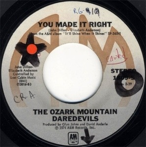 Ozark Mountain Daredevils - You Made It Right