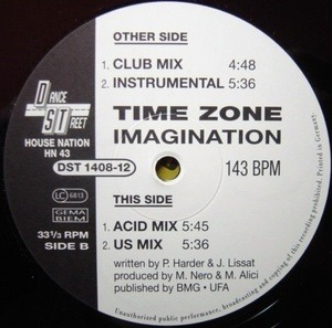 Time Zone - Imagination