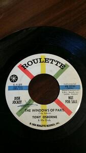 Tony Osborne - The Man From Marseilles / The Windows Of Paris