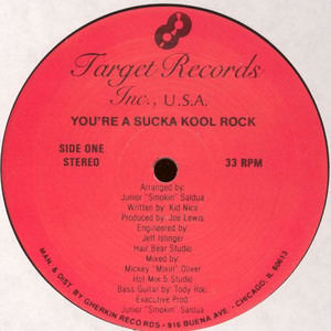 The Unknown Artist - You're A Sucka Kool Rock