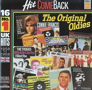 Connie Francis - Hit Come Back • The Original Oldies • Vol. 2 • 16 No. 1 UK Hits 1958 To 1968 • Original Recordings