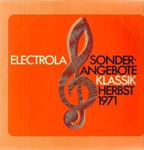 Richard Wagner - Sonderangebote Herbst 71