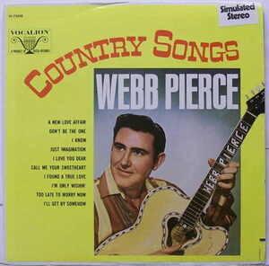 Webb Pierce - Country Songs