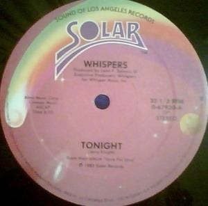 The Whispers - Tonight / Small Talkin'
