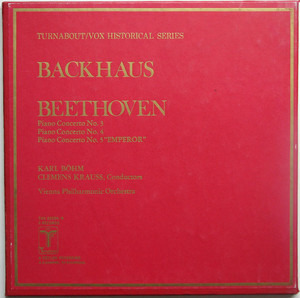 """Ludwig Van Beethoven - Piano Concertos Nos. 3 / Piano Concertos Nos. 4 / Piano Concertos Nos. 5 """"Emperor'"""