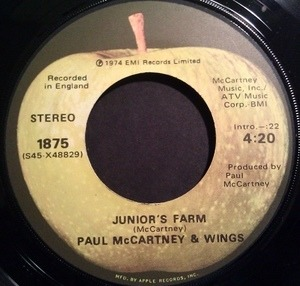 Paul McCartney & Wings - Junior's Farm / Sally G