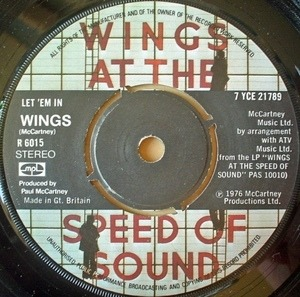 Paul McCartney & Wings - Let 'Em In