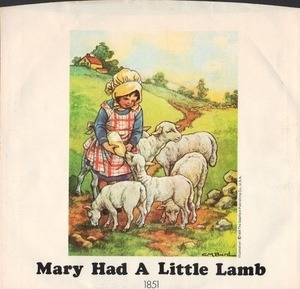 Paul McCartney & Wings - Mary Had A Little Lamb