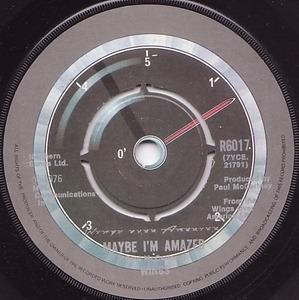 Paul McCartney & Wings - Maybe I'm Amazed