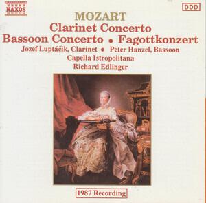 Wolfgang Amadeus Mozart - Clarinet Concerto / Bassoon Concerto