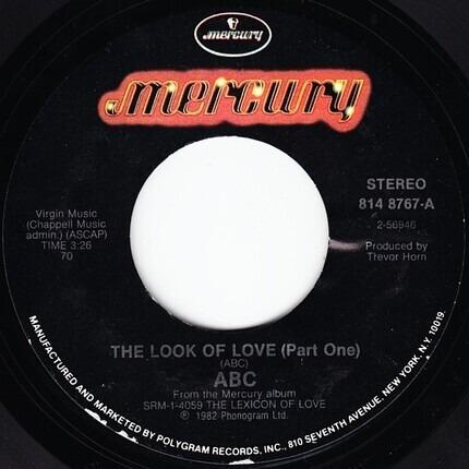 #<Artist:0x00007f80c048b8e8> - The Look Of Love / Poison Arrow