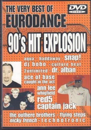 #<Artist:0x00007f9202c0dc58> - The very best of eurodance - 90´s hit explosion