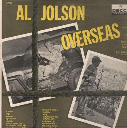 #<Artist:0x00007fce195d2d68> - Al Jolson Overseas