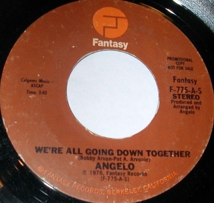 #<Artist:0x00007fce30931650> - We're All Going Down Together