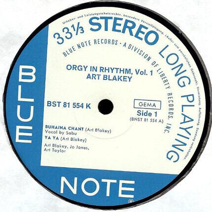 #<Artist:0x0000000008ac3750> - Orgy In Rhythm (Volume One)