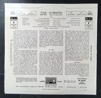 #<Artist:0x00007fcec94b9610> - Verdi's La Traviata (Arturo Toscanini)