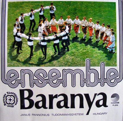 #<Artist:0x00007f8fb4477890> - Magyarországi Délszláv Táncképek - A Baranya Táncegyüttes Koreográfiáinak Tánczenei Anyaga / Dances