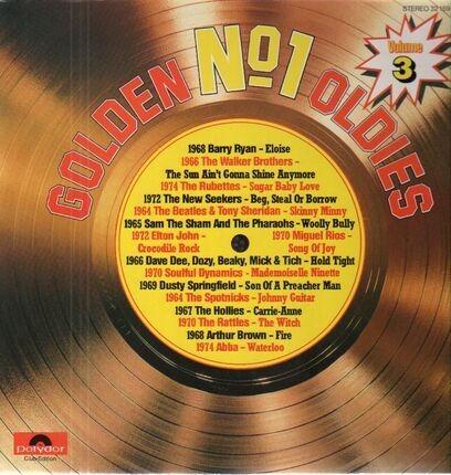 #<Artist:0x00007f410550ec70> - Golden No. 1 Oldies, Volume 3