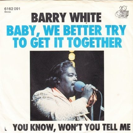 #<Artist:0x00007fb0e1988368> - Baby, We Better Try To Get It Together / If You Know, Won't You Tell Me
