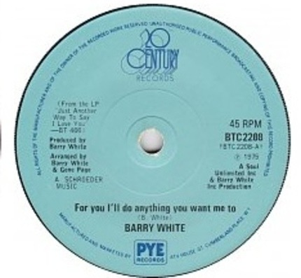 #<Artist:0x00007f475dd3cab0> - For You I'll Do Anything You Want Me To / Anything You Want Me To