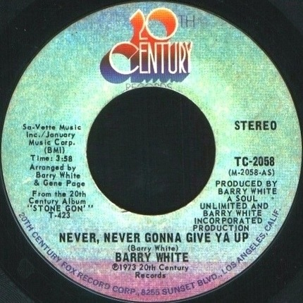 #<Artist:0x00007f6273465ca8> - Never, Never Gonna Give Ya Up