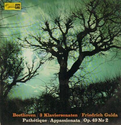 #<Artist:0x00007f38c1333690> - 3 Klaviersonaten,, Friedrich Gulda