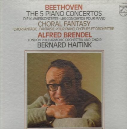 #<Artist:0x00007fc38c02fce0> - Die 5 Klavierkonzerte, Chorfantasie, Alfred Brendel, London Philh Orch, Haitink