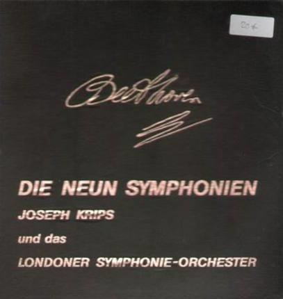 #<Artist:0x00007f25f0ed2b38> - Die Neun Symphonien,, J. Krips und das Londoner Symphonie-Orchester