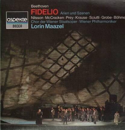 #<Artist:0x00007fc59ce44288> - Fidelio, Arien und Szenen,, Maazel, Wien