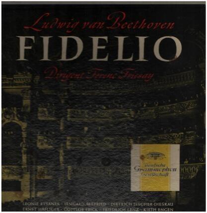 #<Artist:0x00007f4a6ce97150> - Fidelio,, Ferenc Fricsay, Bayrisches Staatsorchester