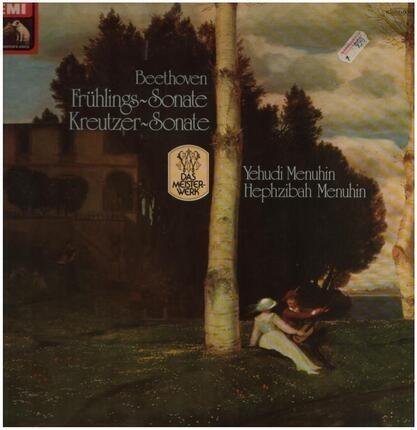 #<Artist:0x00007f7e1f50f948> - Frühlings-Sonate, Kreutzer-Sonate,, Y. Menuhin, H. Menuhin